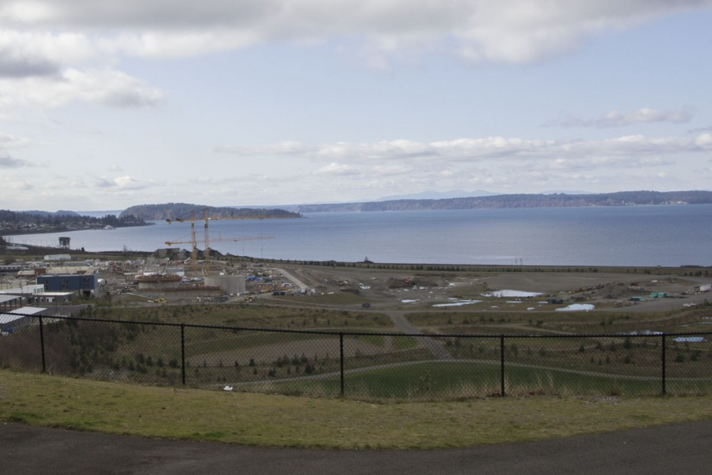 chambers bay construction