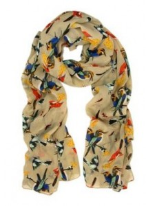 Beautiful Bird Scarf